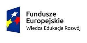 Logo Fundusze Europejskie Wiedza Edukacja Rozwój