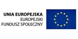 Logo Unia Europejska Europejski Fundusz Społeczny